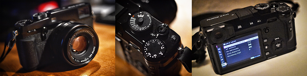 Nikon fotografiert Fuji!