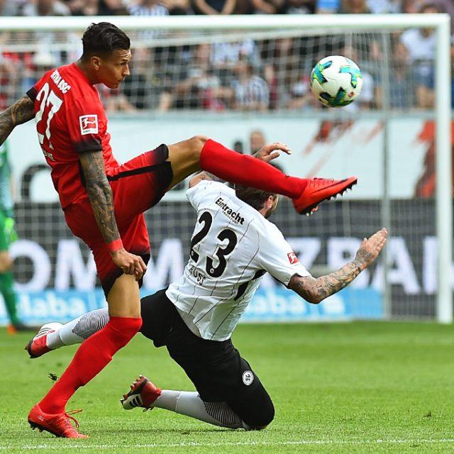 Hertha BSC Berlin schlägt Eintracht Frankfurt mit 3:0