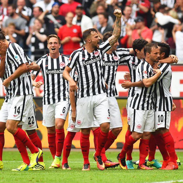 Eintracht Frankfurt schlägt Bayer Leverkusen 2:1