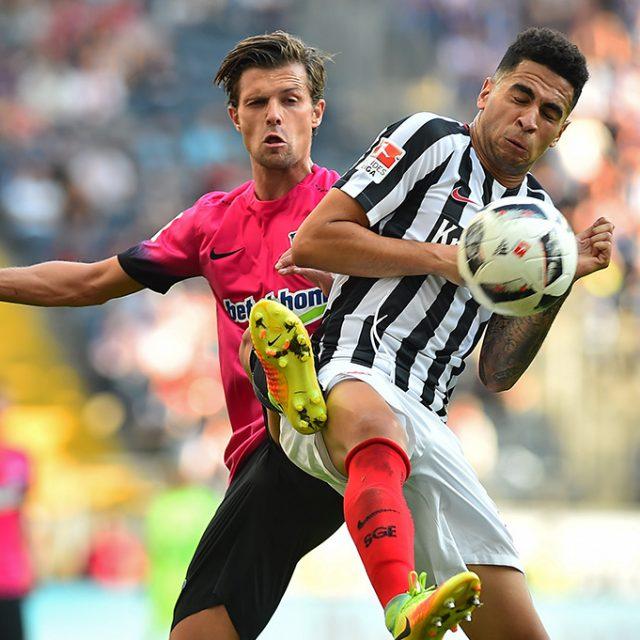 Eintracht Frankfurt gegen Hertha BSC 3:3