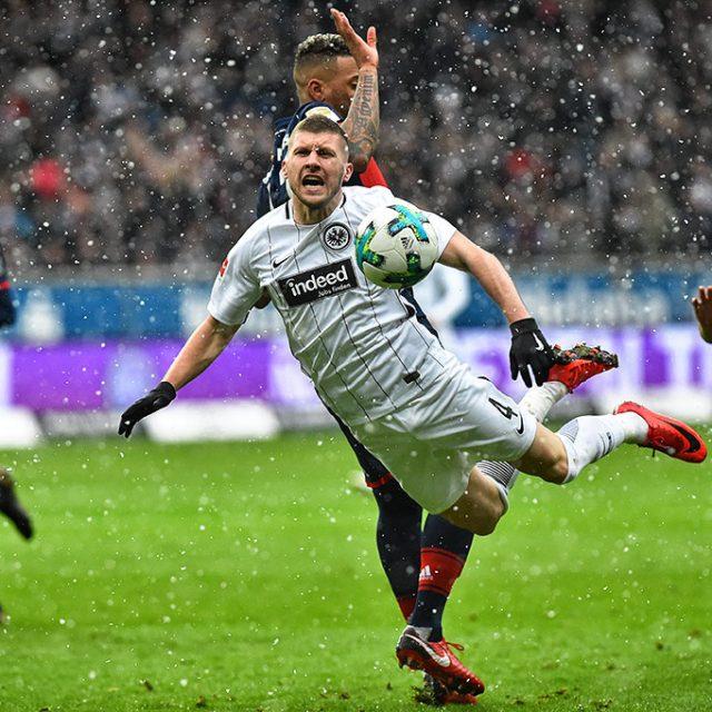 Eintracht Frankfurt gegen FC Bayern München 0:1