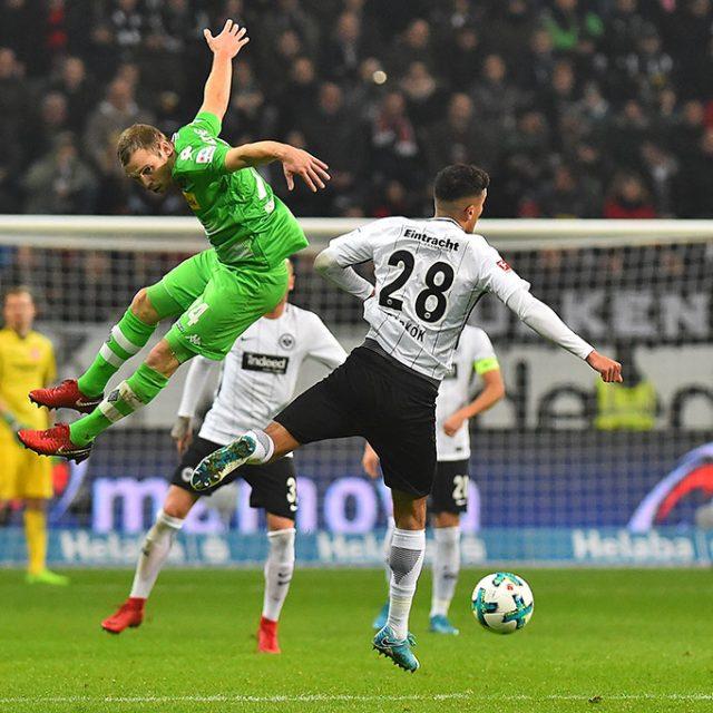 Eintracht Frankfurt gegen Borussia Mönchengladbach 2:0