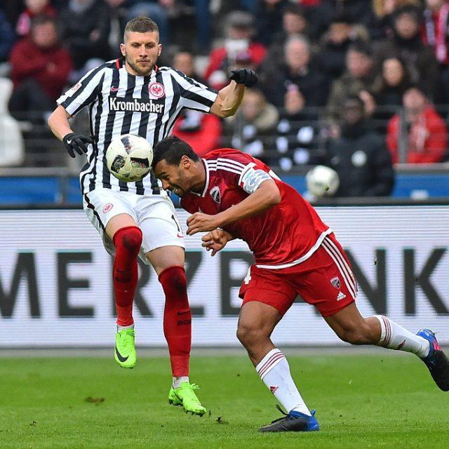 Eintracht Frankfurt gegen FC Ingolstadt 0:2