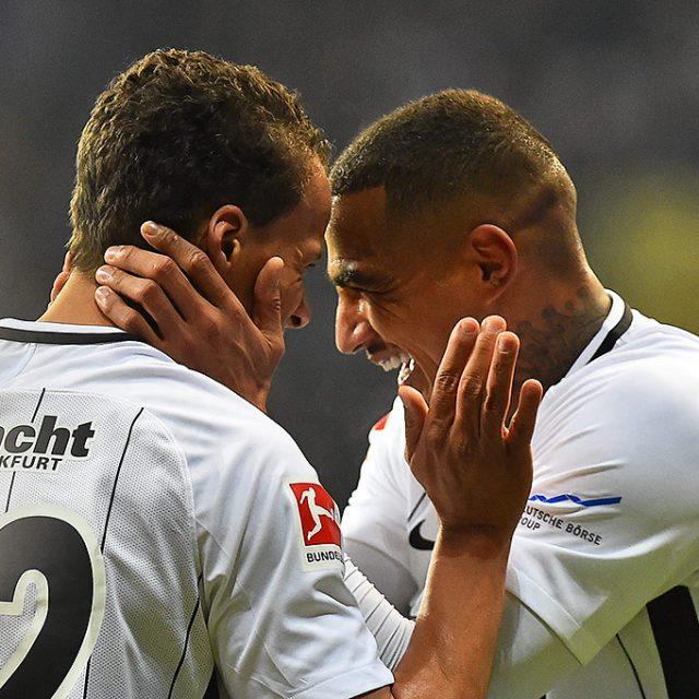 Eintracht Frankfurt gegen RB Leipzig 2:1