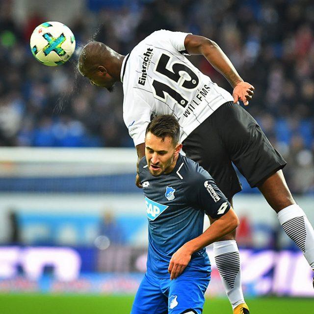 TSG Hoffenheim gegen Eintracht Frankfurt 1:1